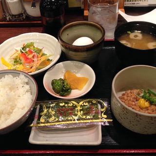納豆定食(アミーチ (Amici))