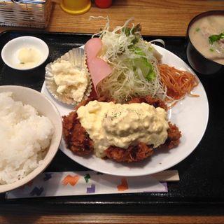 カキフライ定食(きなこ )
