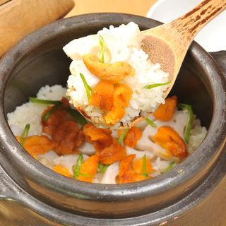 雲丹の土鍋(すみれ家)
