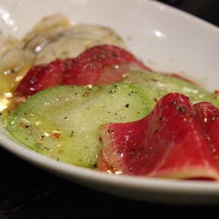 大根五種サラダ(さかな・炙り 暖 (ダン))