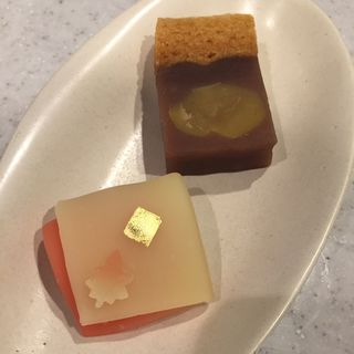 秋色,龍田餅(一幸庵)