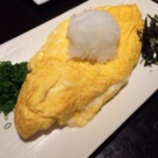 蕎麦屋の出汁巻きオムレツ(玉椿 (たまつばき))
