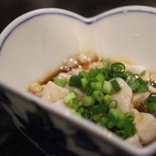 タラ白子ポン酢和え(さかな・炙り 暖 (ダン))