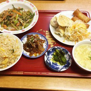まんぷく定食(中国北方料理 知味観 )