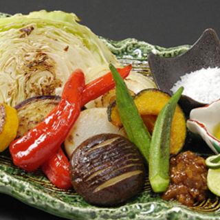 焼き野菜盛り合わせ(和食鉄板 銀座 朔月 (さくつき))
