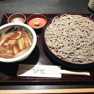 鴨ざる(そばよし 上本町店 )