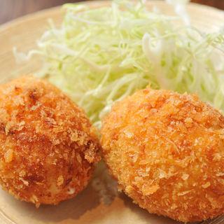 カニクリームコロッケ(旬菜 青山)