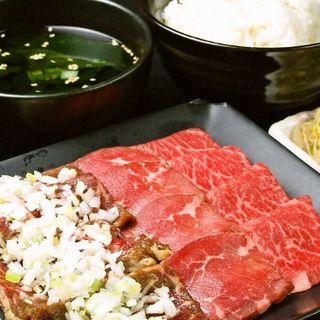 和牛カルビ焼き タレ(昭和ホルモン亭 銀座本店)