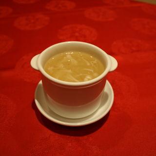 たまごスープ(上海大飯店)