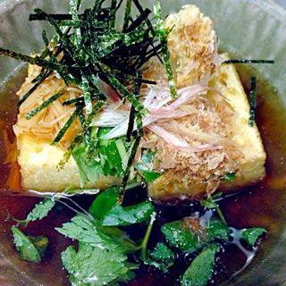 揚げ出し豆腐(くりや)