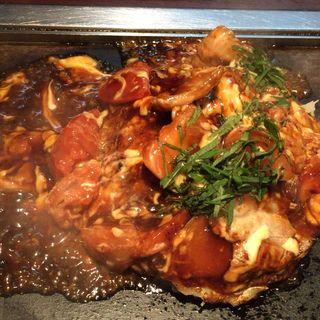 豚肉のトマトお好み (京ちゃばな 新大阪駅店 )
