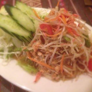 パパイヤサラダ(タイ料理 パヤオ )