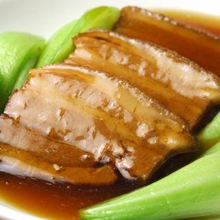 豚の角煮(横浜中華街 千禧楼 中国料理)