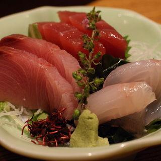 鮮魚の盛り合わせ(越後屋惣右衛門 銀座6丁目店 (えちごやそうえもん))