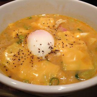 カレーチーズラーメン(越後秘蔵麺 無尽蔵 佐野家 )