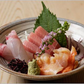 鮮魚の盛り合わせ(鮨六本木すずき )