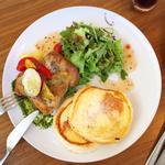 淡路産鶏もも肉のグリル 地中海野菜添え(ヨーキーズブランチ (YORKYS BRUNCH))