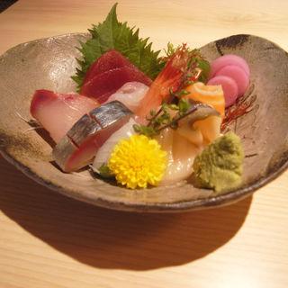 鮮魚のお造り(鮨まるばつ (鮨〇×))