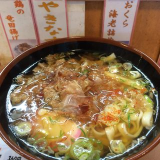 すき焼き風肉きしめん(期間限定)(かきつばた 名古屋駅1・2番線店 )