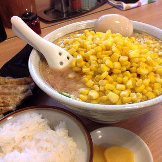 味噌コーンラーメン(すすきの亭 御器所店 (すすきのていごきそてん))