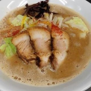 豚骨味噌ラーメン(ラーメン たぬき屋 )