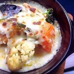 ハンバーグと野菜のグラタン(カフェ ド ガモヨン (café de GAMOYON))