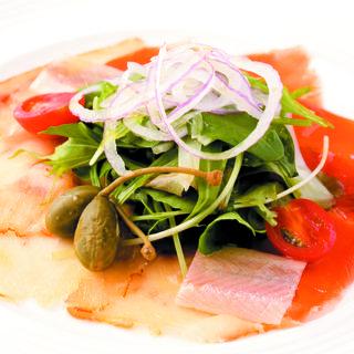 鮮魚のカルパッチョ(サバティーニ・ディ・フィレンツェ 大丸東京店 (SABATINI di Firenze))