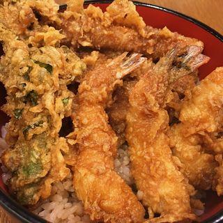 海老穴子天丼(天晶 (てんしょう))