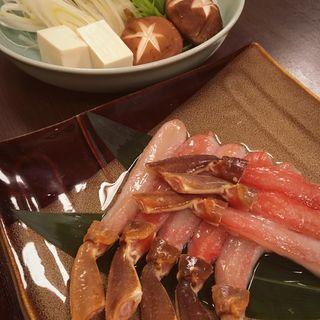 蟹しゃぶ(茶寮 もち月 (サリョウモチヅキ))