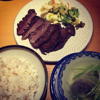 特切り厚焼定食(味の牛たん 喜助 定禅寺店 (きすけ))