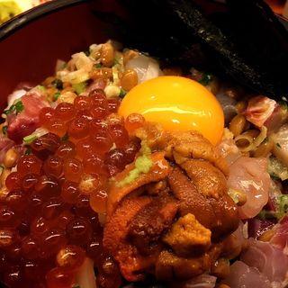 磯納豆丼(伊豆の味処 錦 (にしき))