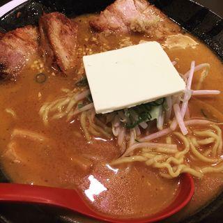 北海道百年味噌野炙りチャーシューメン(國丸 )