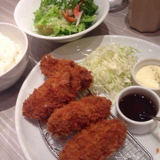 カキフライ(GUMBO&OYSTERBAR東京駅八重洲地下街店)
