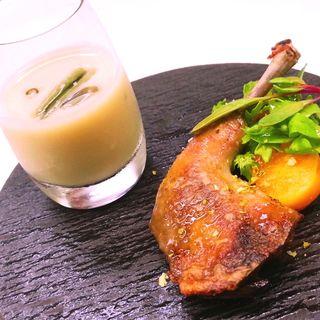 鶏モモ肉のグリル(シェ松尾 松濤レストラン (シェマツオ))