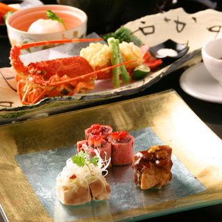 肉の一口3種盛り(しの原 世田谷本店 (しのはら))