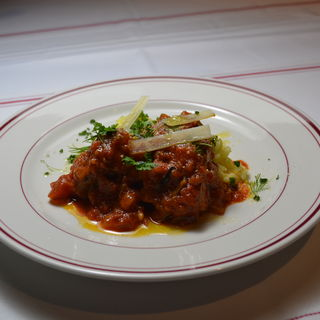 牛ホホ肉のトマト煮込み(リストランテ シャイー (RISTORANTE CHAILLY))