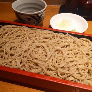 もり蕎麦(手打ち蕎麦 更科 よしき (てうちそば さらしな よしき))