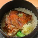真鯛カマの土鍋(割烹 新風 )