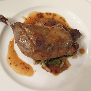ランチコース(鴨のコンフィ)(ラ ブラスリー (TRADITIONAL DINING La Brasserie))
