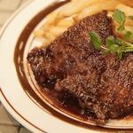 蒜山ジャージー牛のシアター風ステーキ