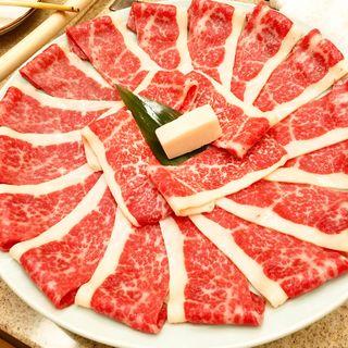 馬肉(祇園 馬春楼 )