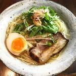 白醤油ラーメン(元祖熟成細麺 香来 壬生本店 )