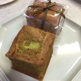 キャレソワ「緑茶」と「紅茶」(BeBe du la Patisserie Yu Sasage)