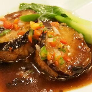 アワビの姿煮 餡かけ(中国薬膳料理 星福)