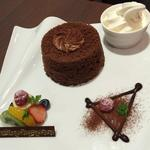 チョコレートクリームシフォン