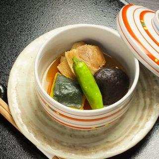 南瓜とシイタケの煮つけ(千里 )