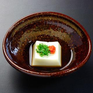 よもぎ豆腐(双寿)