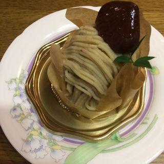 モンブラン(三嶋亭 高島屋 京都店 (ミシマテイ))