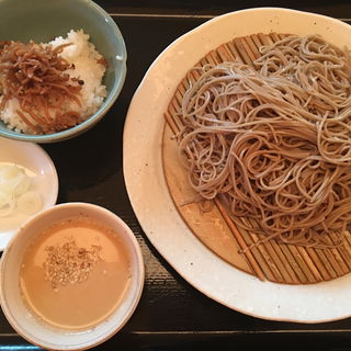 韃靼蕎麦ランチセット(千年 (センネン))