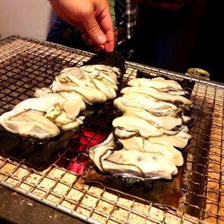 牡蠣の昆布蒸し
